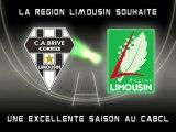 La région Limousin souhaite une bonne saison au CAB Brive
