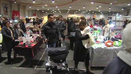 Le marché de Noël à la Halle