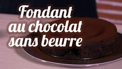 """Fondant au chocolat bio """"sans beurre et sans reproche"""""""