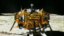 Chine : la descente vers la Lune filmée en caméra embarquée