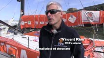Find out what the Imoca 60 skippers eat during the offshore races