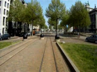 Touring Antwerp by tram
