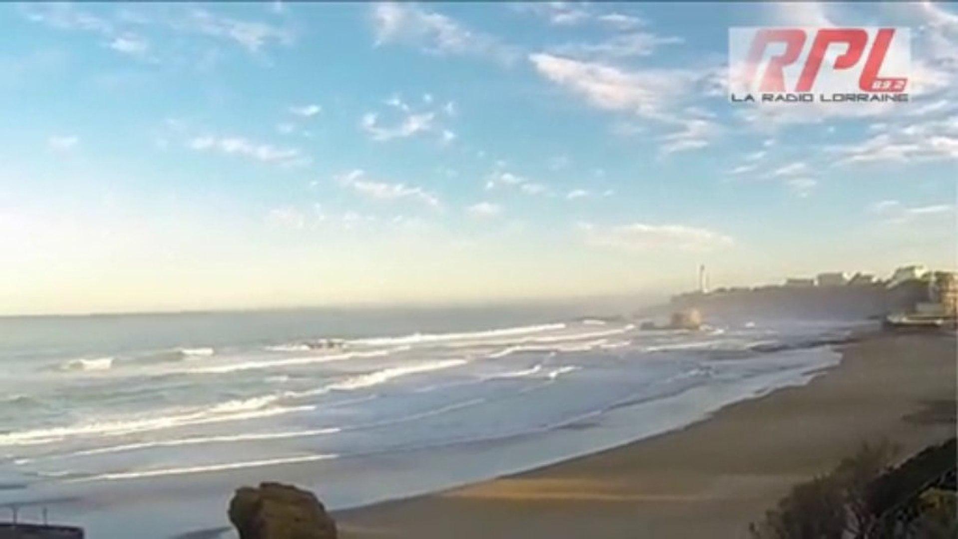 Biarritz le 16 décembre 2013