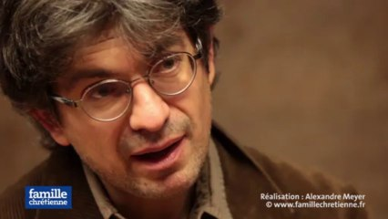 3 minutes en vérité avec Fabrice Hadjadj, directeur de l'Institut Philanthropos
