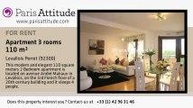 2 Bedroom Apartment for rent - Levallois Perret, Levallois Perret - Ref. 4955