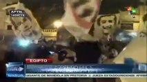Egipcios conmemoran muerte de 17 manifestantes en 2011