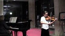 Bach - Concerto n°1 pour Violon - 1er mouvement - Adèle Anne