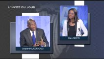 L'INVITE DU JOUR - Gaspard OUEDRAOGO - Burkina Faso