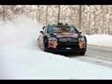 Compilation de crash en rallye sur neige 1 / Rallye crash compilation #1