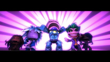 DC Comics - Premium Level Pack trailer de LittleBigPlanet 2