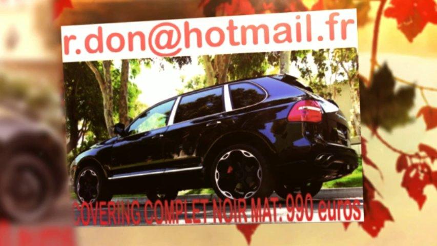 Porsche Cayenne noir mat, Porsche Cayenne noir mat, Porsche noir mat, Porsche Cayenne Covering noir mat, Porsche Cayenne peinture noir mat, Porsche Cayenne noir mat