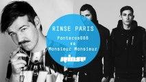 Panteros666 vs Monsieur Monsieur - Rinse France DJ Set