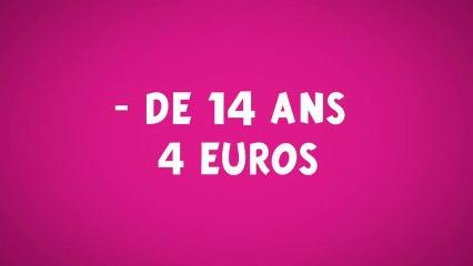 - de 14 ans 4 euros