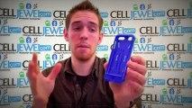 CellJewel.com - Apple iPod 5 Hybrid Case With Kickstand Blue