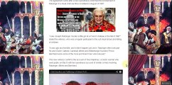 Joseph Ratzinger Emeritus Pope Benedict XVI murders a little girl