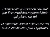 A Monsieur Alain Soral : Abbé Pierre (Django Reinhardt-Echoes de France.Swing 39)