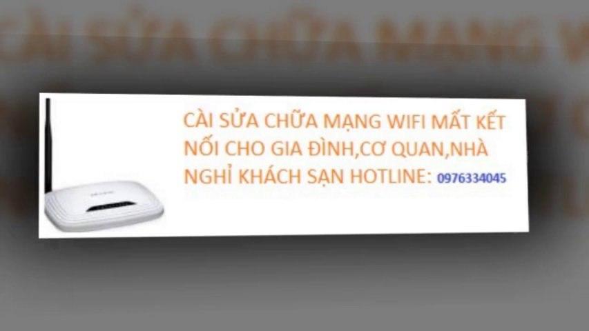 Dich Vu Sửa Mạng Wifi Internet Tại Cầu Giấy 0976334045 Giá Rẻ | Godialy.com