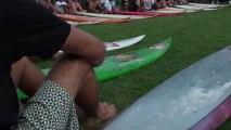 surfing Eddie Aikau Quicksilver - Kelly Slater -  Waimea 2009