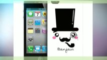 SIR FACE PROTECTIVE HARD BACK CASE COVER FOR APPLE iPHONE 4 or iPhone 4S
