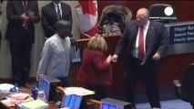 Mayor puts on dancing show at Toronto City Hall