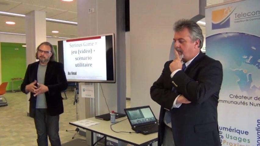 Use-Age WUD2013 - 04 - Les jeux appliqués à la santé : de sérieux usages - Pascal Staccini (Univ. Nice), Jean-François Carrasco (GM Consultants & Associés)
