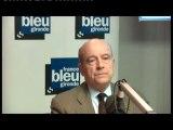 Alain Juppé invité de France Bleu Gironde - Municipales 2014 à Bordeaux
