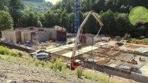 Chantier usine eau potable Roannaise de l'Eau