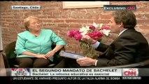 Bachelet sobre reforma constitucional: Ningún gobernante democrático debe hacerse un traje a la medida