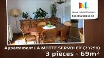 A vendre - Appartement - LA MOTTE SERVOLEX (73290) - 3 pièces - 69m²