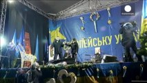 Fresh anti-government protests as Ukrainian government signs bailout agreement with Russia