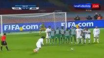Ronaldinho' s incredible goal - Raja Casablanca vs Atlético Mineiro 3-1