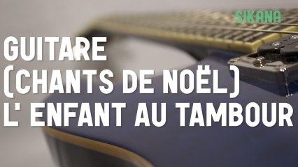 Cours de guitare : jouer le chant de noël Mon Beau Sapin (oh Tannenbaum)