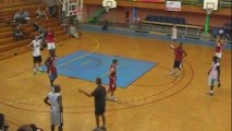 basketball - attaque de zone par  Deschamps Eric - Joeuf le 7 Sept 2013 - part 2