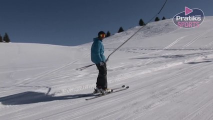 Ski - Comment se relever sur le tire-fesses - entraînement