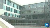 Visite guidée en avant première du nouvel hôpital de Carcassonne dont l'ouverture est programmée pour le 31 janvier 2014.
