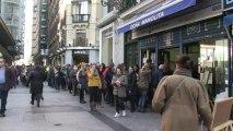 """Espagne: l'espoir de gagner le """"Gordo"""" fait vibrer les Espagnols"""