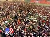 Modi in Varanasi - We have stolen Congress' sleep Narendra Modi in Varanasi