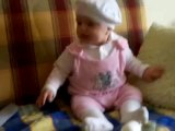simge video 10 gülen bebek komik bebek