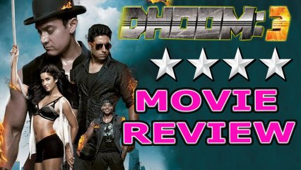 DHOOM 3 - MOVIE REVIEW - Aamir Khan , Katrina Kaif - Bollywood Online Movie Review