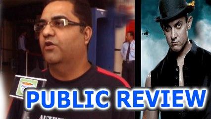DHOOM 3 - PUBLIC REVIEW - Aamir Khan , Katrina Kaif