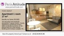 Studio Apartment for rent - Neuilly sur Seine, Neuilly sur Seine - Ref. 5092