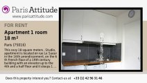 Studio Apartment for rent - Porte Maillot/Palais des Congrès, Paris - Ref. 5755