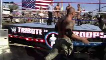 Tribute 2008 - John Cena, Batista & Rey Mysterio vs. Randy Orton & Jeri-Show