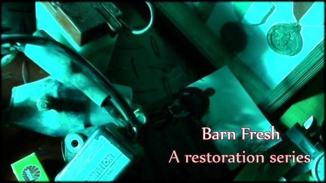 Barn Fresh motorcycle restoration (trailer)