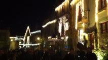 Les illuminations féériques de Noël