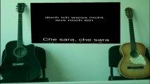 Che sara German cover version in German by Nikola Bujukliev