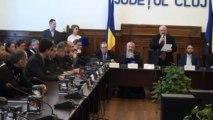 Primarul municipiului Dej - Onoare pentru Cluj prefectura Cluj 20.12.2013