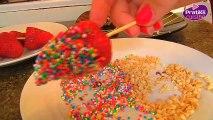 Cuisine - Comment préparer des sucettes de fraises et chocolat