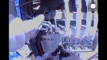 Spazio: uscita dall'ISS per due astronauti, riparano aria condizionata