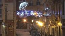 La iluminación de Navidad en Candás, Asturias 2013